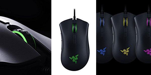Ratón gaming Razer DeathAdder Elite barato en Amazon