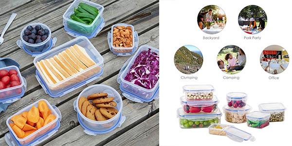recipientes herméticos para comida con genial relación calidad-precio