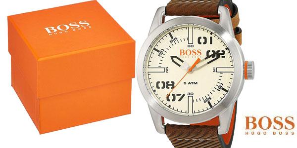 f5e95e7840e7 Reloj analógico Hugo Boss Orange 1513418 Oslo para hombre barato en Amazon