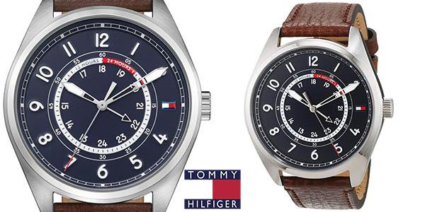 Reloj Tommy Hilfiger 1791371 con correa de piel para hombre