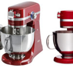 Robot de cocina AEG KM4000 de 1000 W en color rojo barato en Amazon