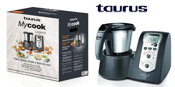 Chollazo robot de cocina multifunci n taurus mycook legend for Robot cocina taurus mycook