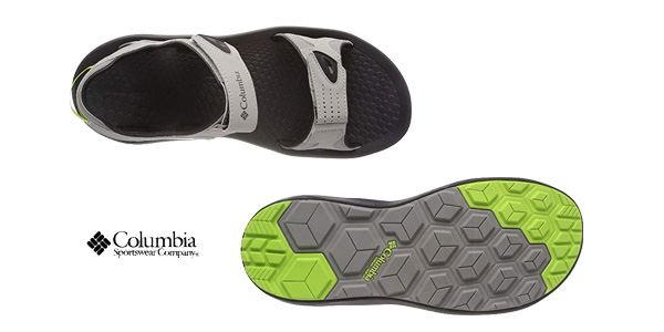 Sandalias deportivas Columbia Techsun en color gris para hombre chollo en Amazon