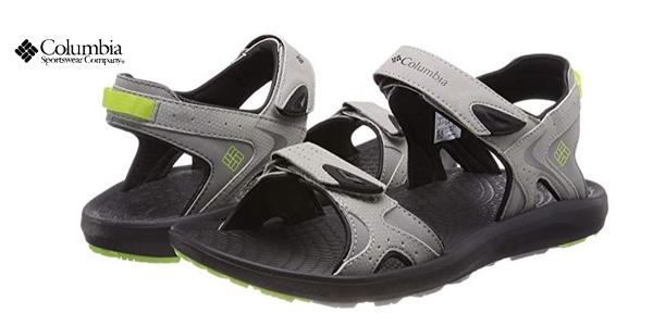 Sandalias deportivas Columbia Techsun en color gris para hombre baratas en Amazon