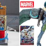 Set Spiderman Marvel Web City con la figura del Buitre de 15 cm
