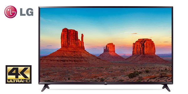 "Smart TV LG 55UK6100PLB UHD 4K de 55"" barato en Amazon"