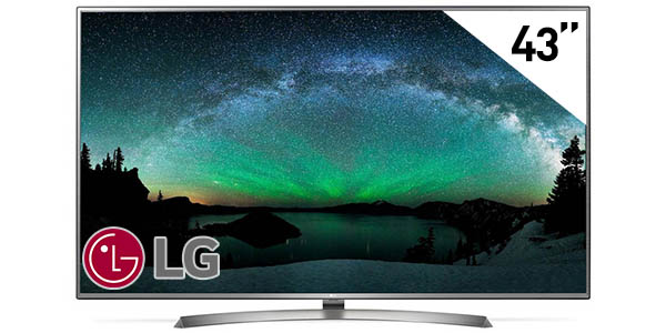 Smart TV LG 43UJ670V UHD 4K HDR de 43""