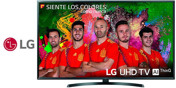 """Smart TV LG 49UK6470PLC de 49"""" (LED, UHD 4K, inteligencia artificial) barata"""