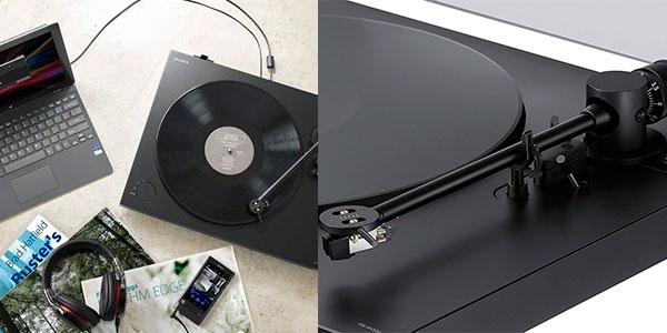 Tocadiscos Sony PSHX500 de 2 velocidades y convertidor a mp3 barato