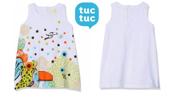 Vestido punto S/M Jungle Draw Tuc Tuc para niñas chollo en Amazon