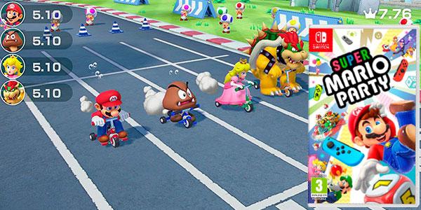 Videojuego Super Mario Party para Nintendo Switch rebajado