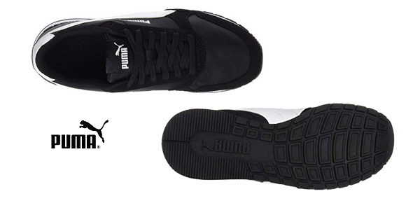 Zapatillas casual Puma St Runner V2 NL en color negro chollo en Amazon