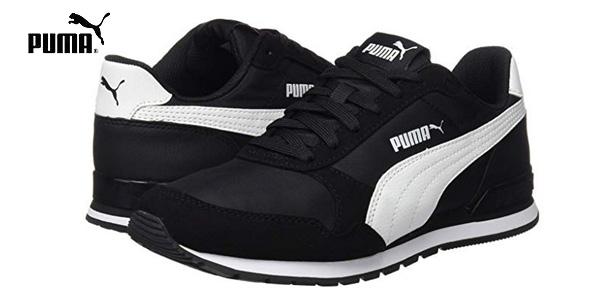 Zapatillas casual Puma St Runner V2 NL en color negro baratas en Amazon
