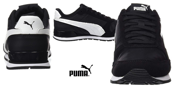Zapatillas casual Puma St Runner V2 NL en color negro chollazo en Amazon