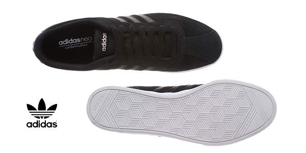 Zapatillas casual Adidas Courtset en color negro para mujer chollo en Amazon