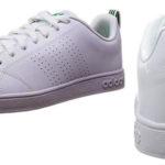 Zapatillas Adidas Vs Advantage Cl en color blanco para hombre baratas en Amazon