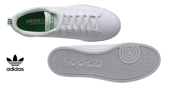 Zapatillas Adidas Vs Advantage Cl en color blanco para hombre chollazo en Amazon