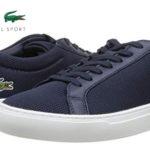 Zapatillas deportivas Lacoste L.12.12 BL 2 CAM en color azul navy para hombre baratas en Amazon