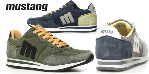 Zapatillas Mustang Lainer en varios colores para hombre chollazo en eBay