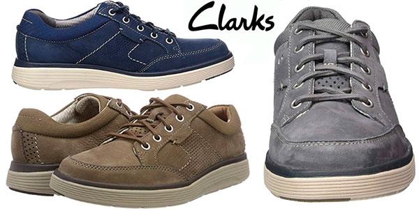 Hombre Para Por Derby Un Sólo 45 Zapatos Lace Abode Clarks Chollazo aOw0q8CY