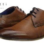 Zapatos de vestir Bugatti 312101082100 en color marrón cognac para hombre baratos en Amazon