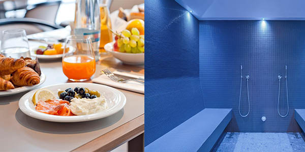 alojamiento con spa y desayunos viaje a Praga invierno 2018