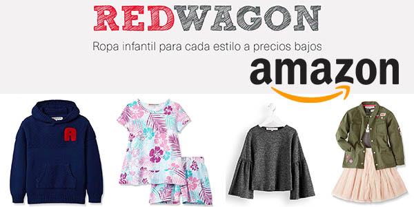 Amazon Moda Red Wagon infantil ofertas