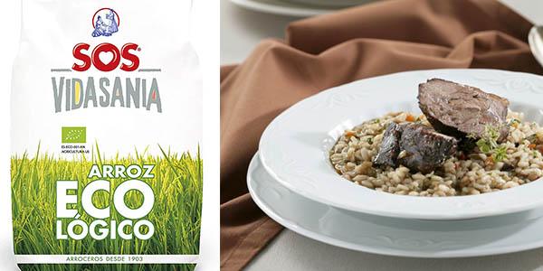 arroz SOS ecológico paquete de 1 kg oferta