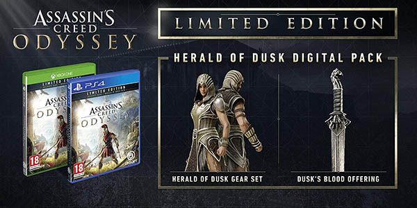 Assassin's Creed Odyssey Limited Edition para PS4 y Xbox One