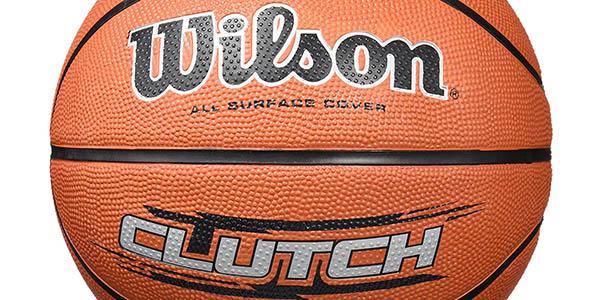 balón de baloncesto Wilson Clutch para jugadores aficionados o principiantes oferta