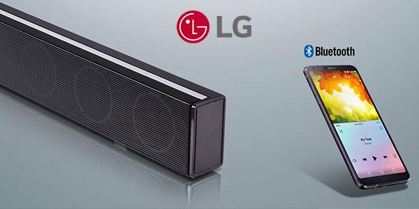 Barra de sonido LG SJ1 de 40 watios con Bluetooth 4.0 y Dolby barata