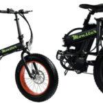 E-Bike Tucano Monster 20 plegable negra barata