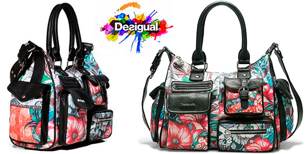 Bolso Desigual Yandi London Medium barato