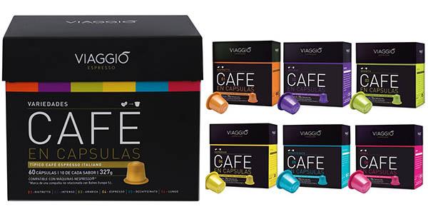 cajas de café Viaggio Espresso con gran cantidad oferta