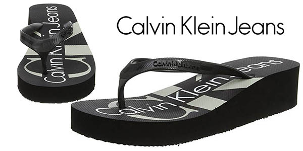 Calvin Klein Jeans Tesse Jelly chanclas baratas