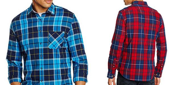 camisa casual para hombre de manga larga y fácil planchado Redford Berlin chollo