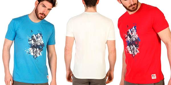 camiseta de diseño casual US Polo oferta