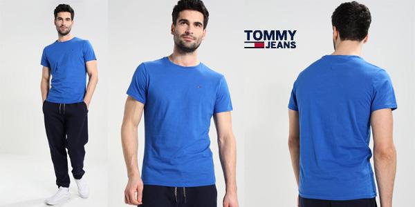 Camiseta Tommy Jeans de punto de algodón para hombre chollazo en Amazon