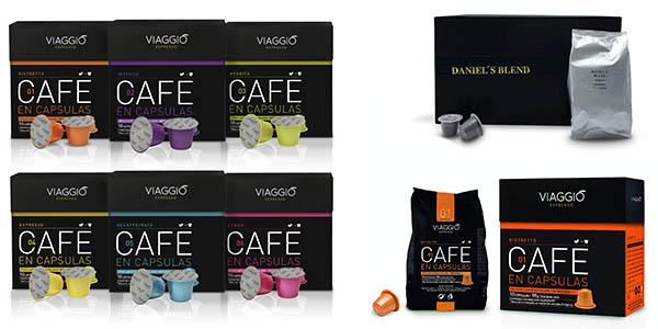 cápsulas de café Viaggio Espresso compatibles con máquinas Nespresso baratas