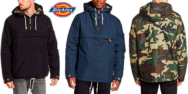 Chaqueta de entretiempo Dickies Milford con capucha para hombre en varios modelos barata