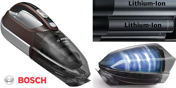 Chollo Aspirador de mano Bosch BHN2140L Move Lithium inalámbrico para el hogar y el coche