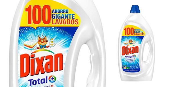Chollo Detergente Dixan Gel Total 100 lavados barato en Amazon