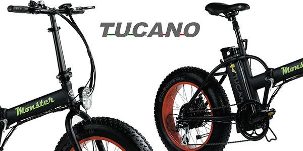Chollo Bicicleta eléctrica Tucano Monster 20 plegable con cambio Shimano