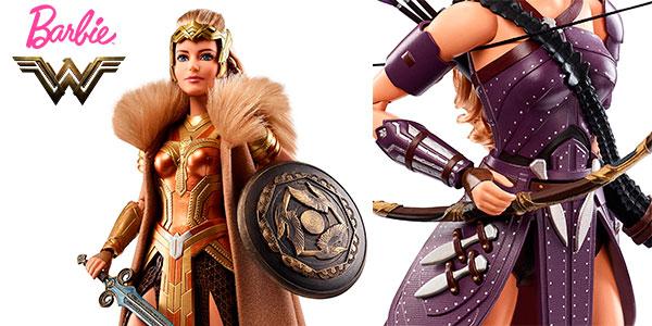 Chollo Muñeca Barbie de la película Wonder Woman (Reina Hipólita y Antíope)