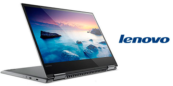 "Chollo Portátil convertible Lenovo Yoga 720-13IKB de 13,3"" (Intel Core i5-7200U(H) + 8 GB RAM + 256 GB SSD)"