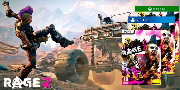 Reserva videojuego Rage 2 para PC Steam, PS4 y Xbox One al mejor precio