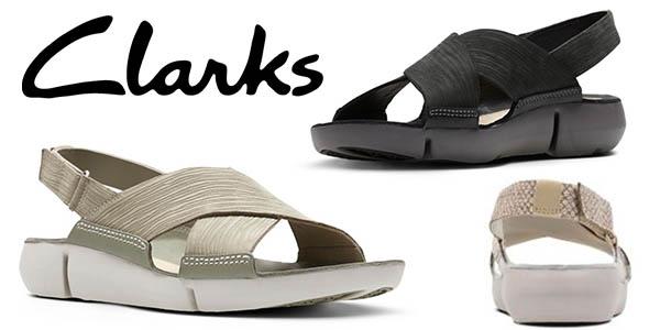Clarks Tri Chloe sandalias para mujer baratas