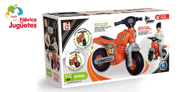Correpasillos Ride-on Jumpy motocross chollazo en Amazon