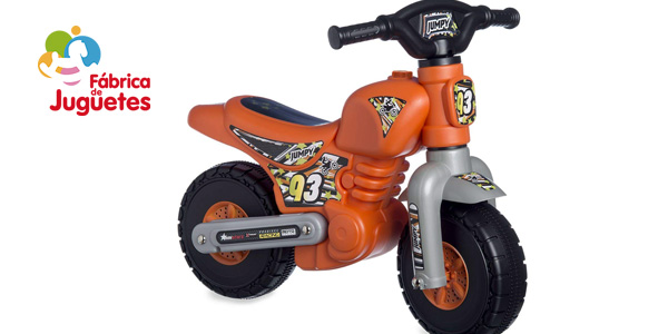 Correpasillos Ride-on Jumpy motocross barato en Amazon