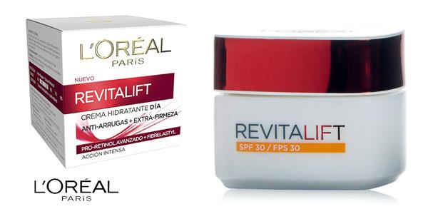 Crema de Día L'Oreal Paris Revitalift SPF30 de 50 ml barata en Amazon